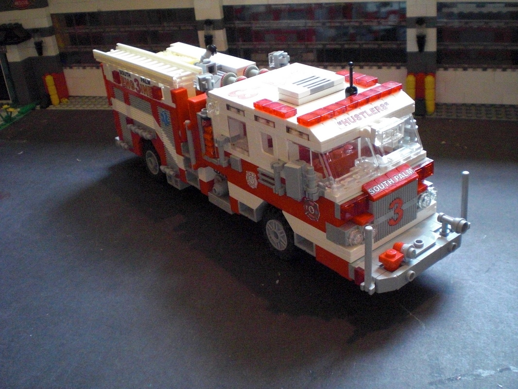 Apparatus - South Palm Lego Fire Department